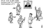 Education, a shared responsibility